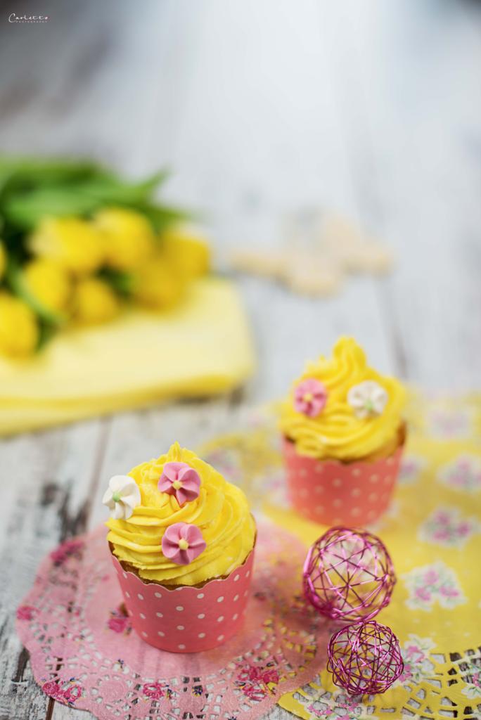 Frühlingscupcakes