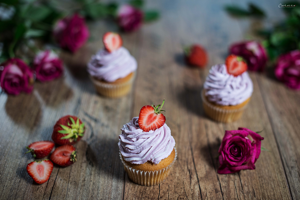 Erdbeer Daiquiri Cupcakes