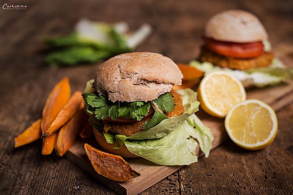 rezept veggie burger la jamie oliver. Black Bedroom Furniture Sets. Home Design Ideas