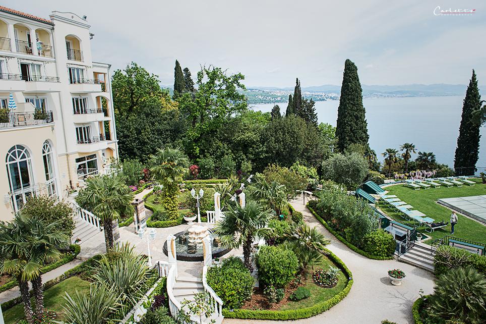 Garten im Hotel Mirama