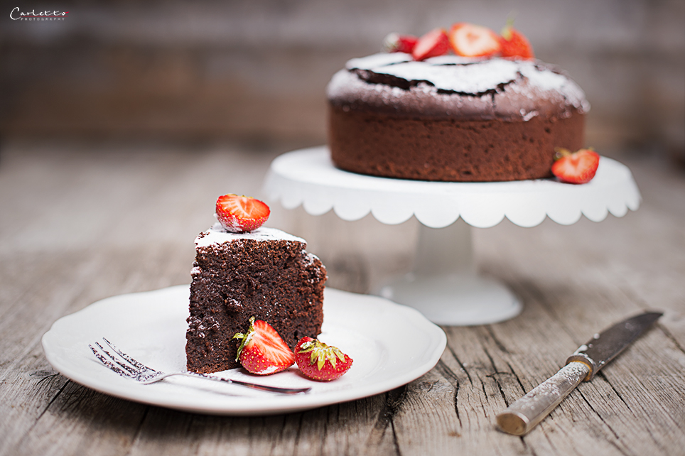 Schoko Fudge Kuchen