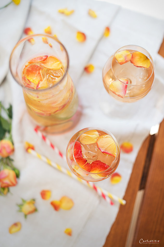 rosenblüten drink