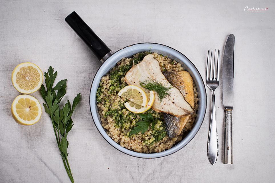 ebly couscous quinoa fischfilets