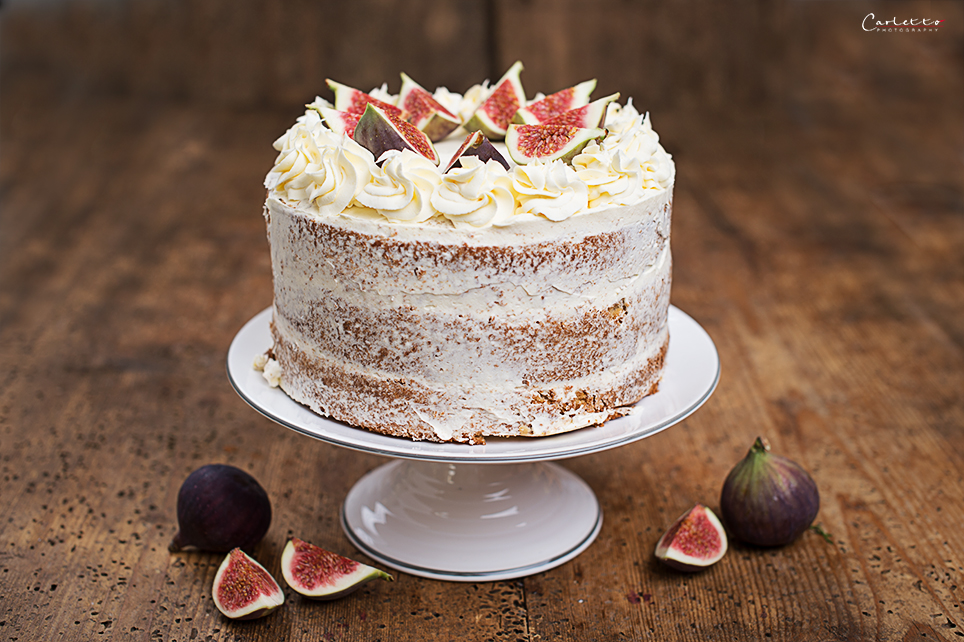 Torte mit Honig und Feigen Twinings