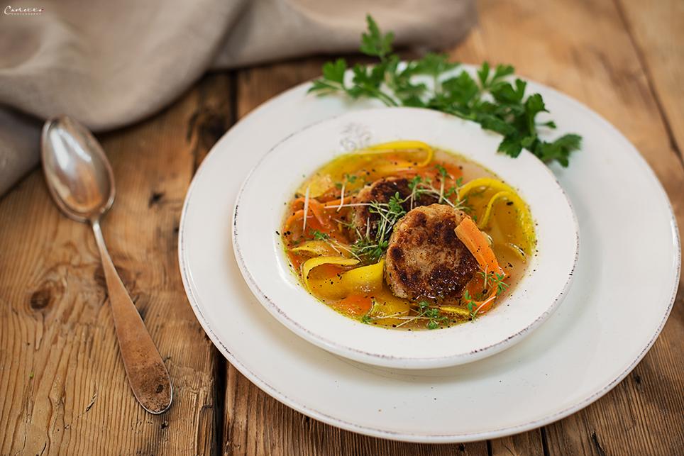 Kaspressknödel Suppe