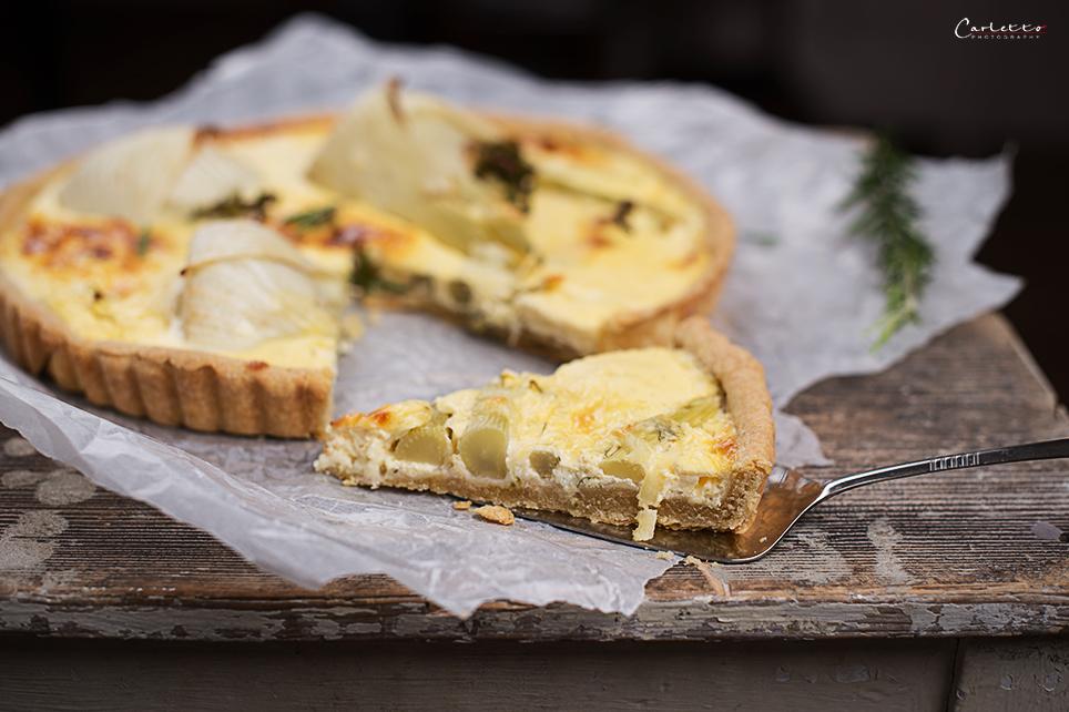 fenchel käse tarte
