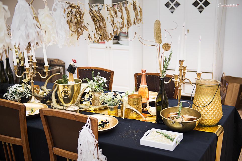 Dekotipps f r die silvester glamour deko deko diy - Silvester dekoration ...