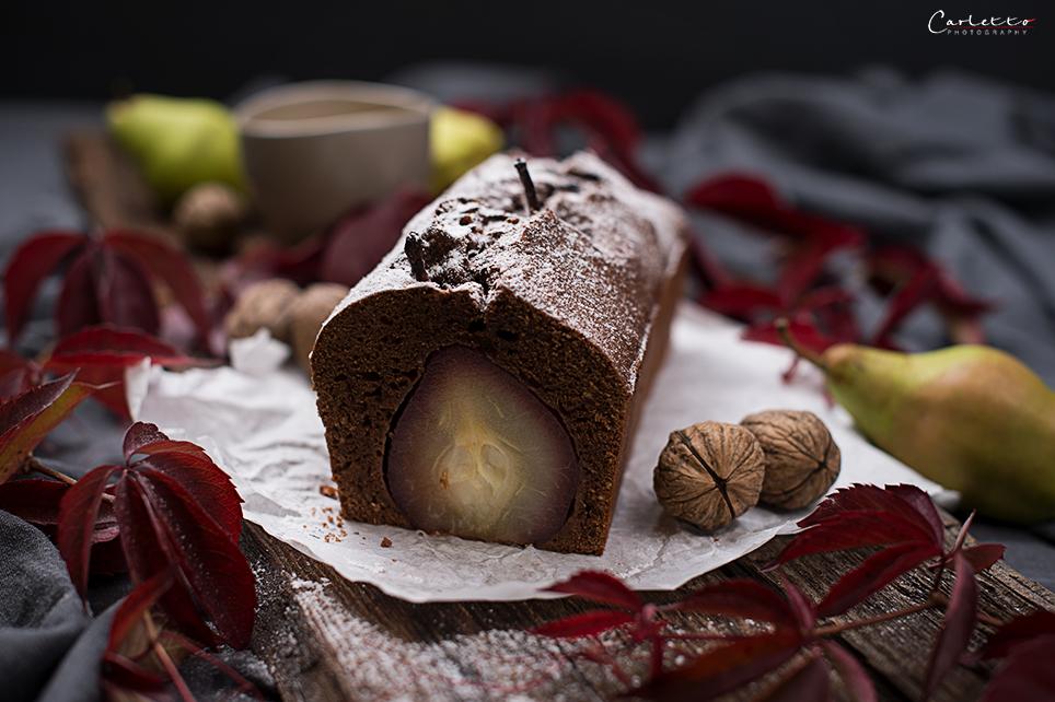 Birnen Schokoladenkuchen