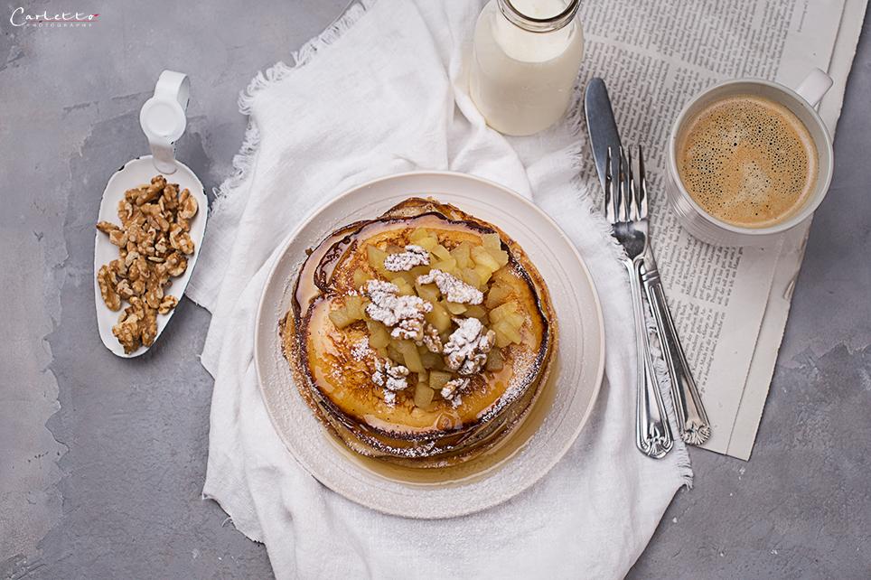 Pancakes mit Edelsauermilch