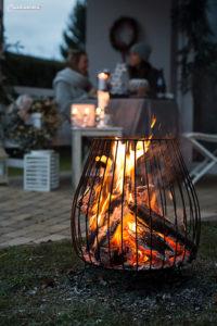 Glühweinparty im Garten