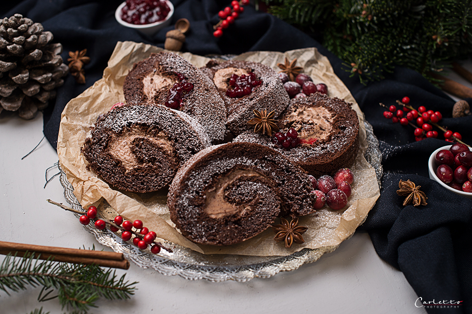 Weihnachtsroulade