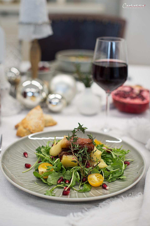 New tasty salads - festive table decoration 60