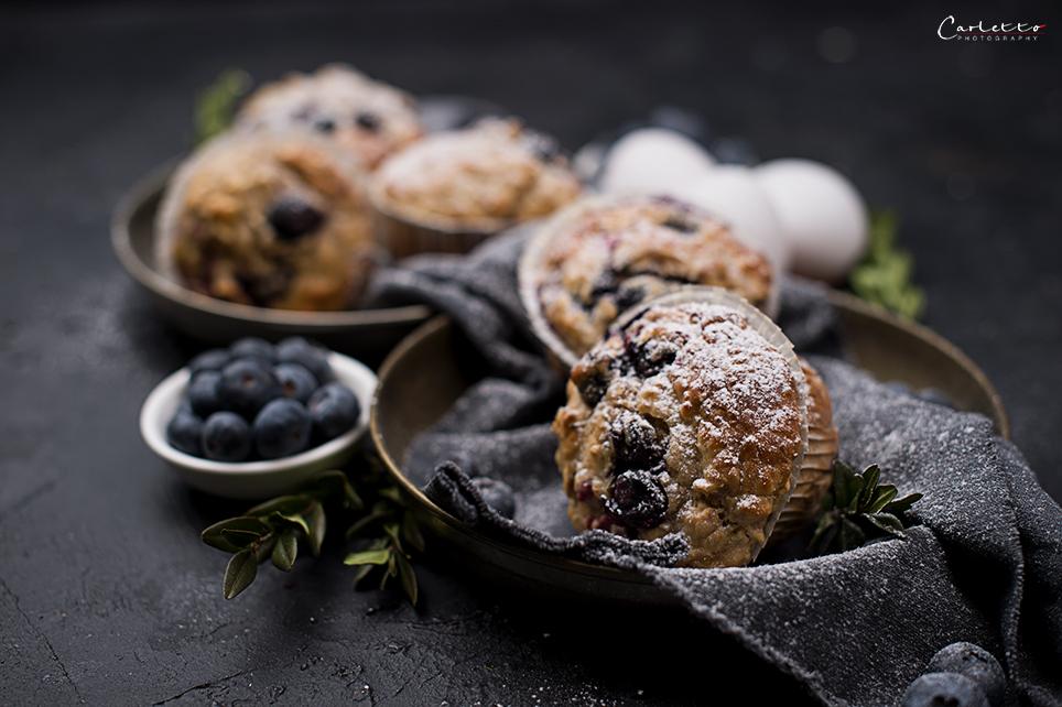 Rezept Gesunde Beeren Muffins Low Carb Schnell Saftig