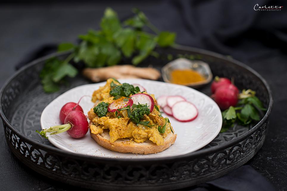 Curry Eierspeise