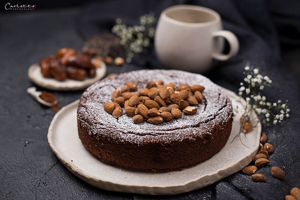 Dattel Schoko Bananenkuchen