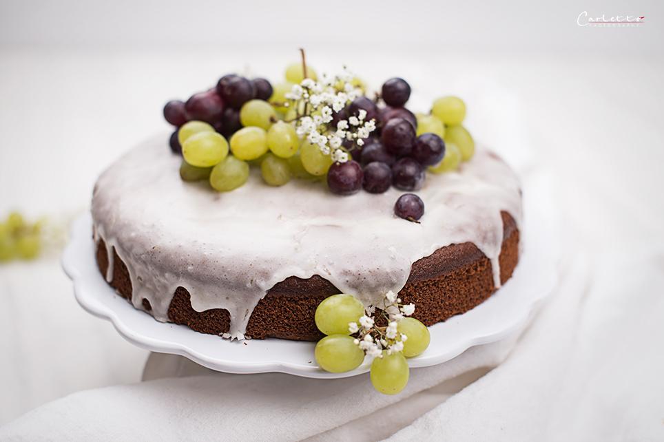 Trauben Drip Cake