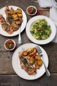 Hühner Saltimbocca