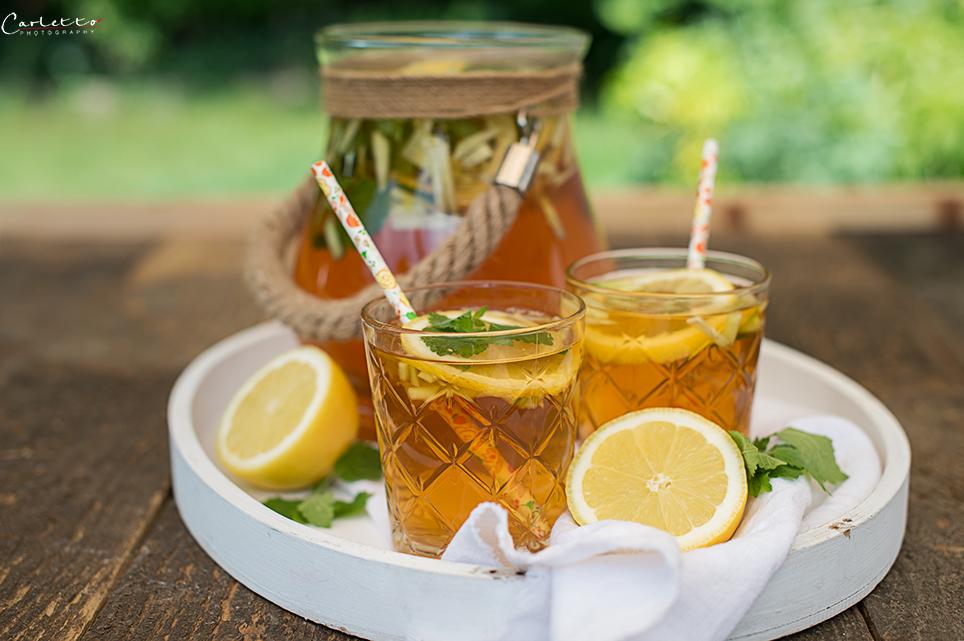 Gurken Holunder Mocktail