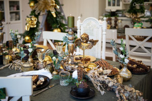 Festlicher Weihnachtstisch
