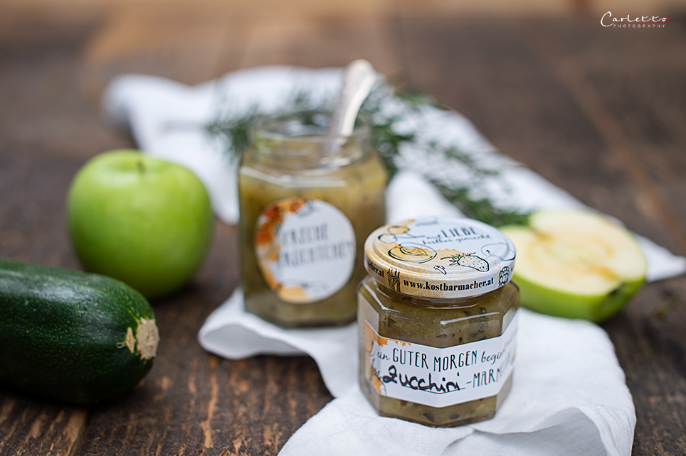 Zucchini Apfel Marmelade