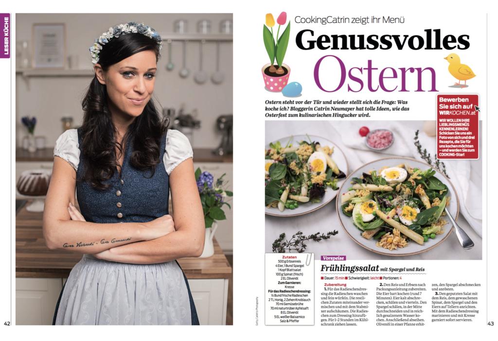 Ostern im Magazin cooking
