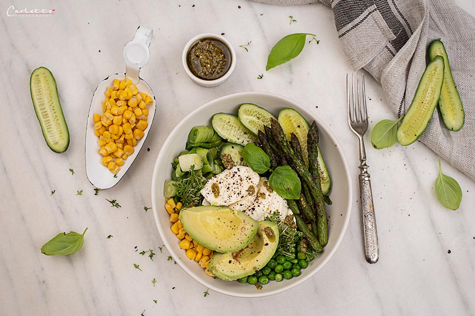 gesunde Gemüsebowl