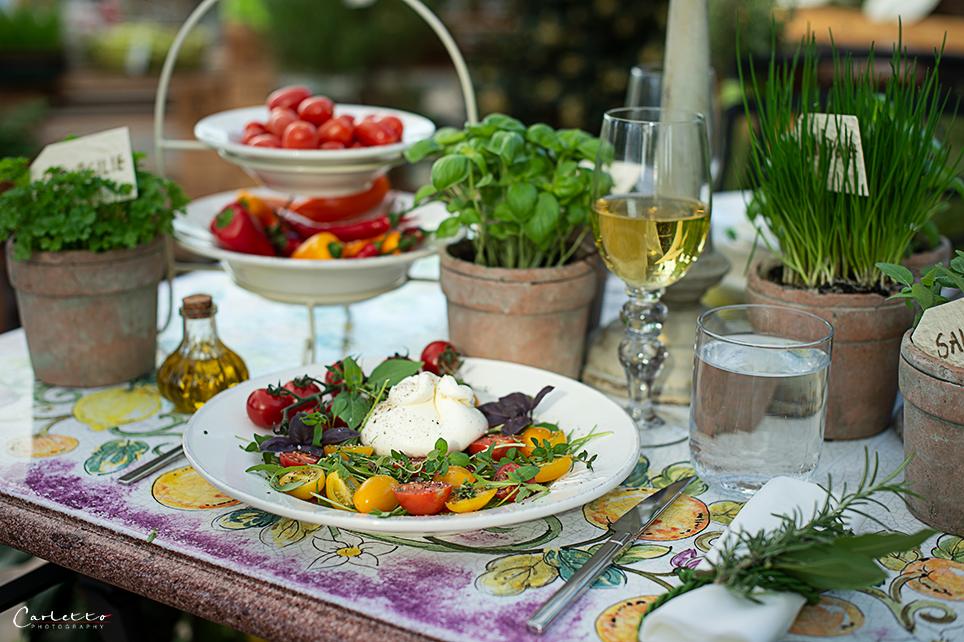 Tomaten Kräutersalat