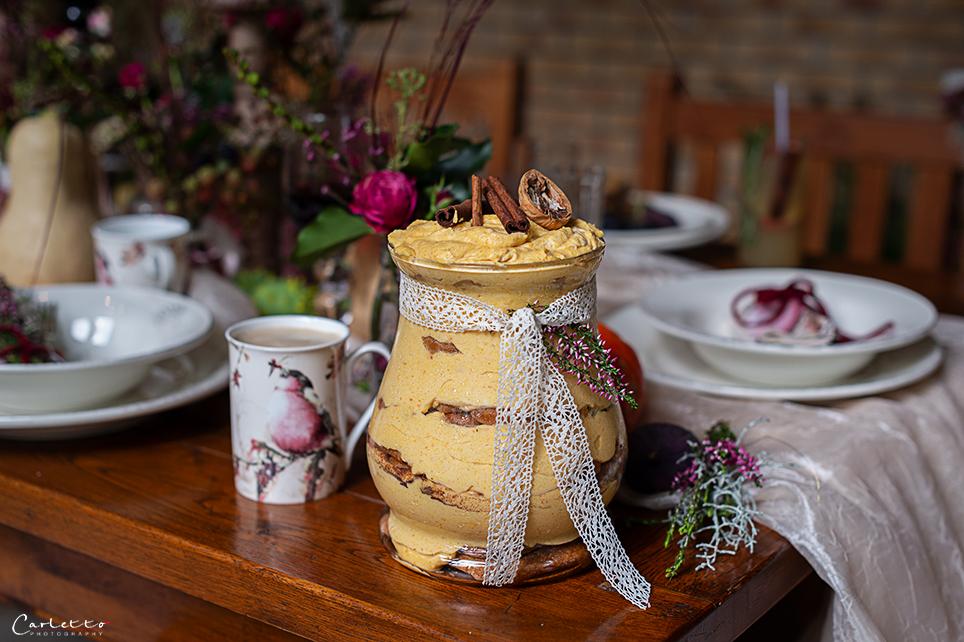 REZEPT: Herbstliches Kürbis Tiramisu von cookingCatrin