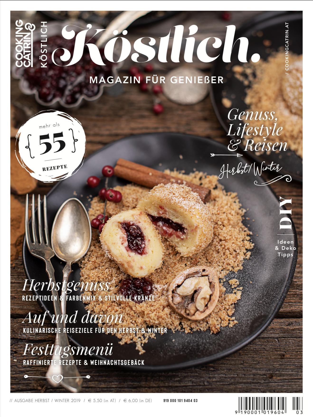 Köstlich Magazin Herbst Winter 2019