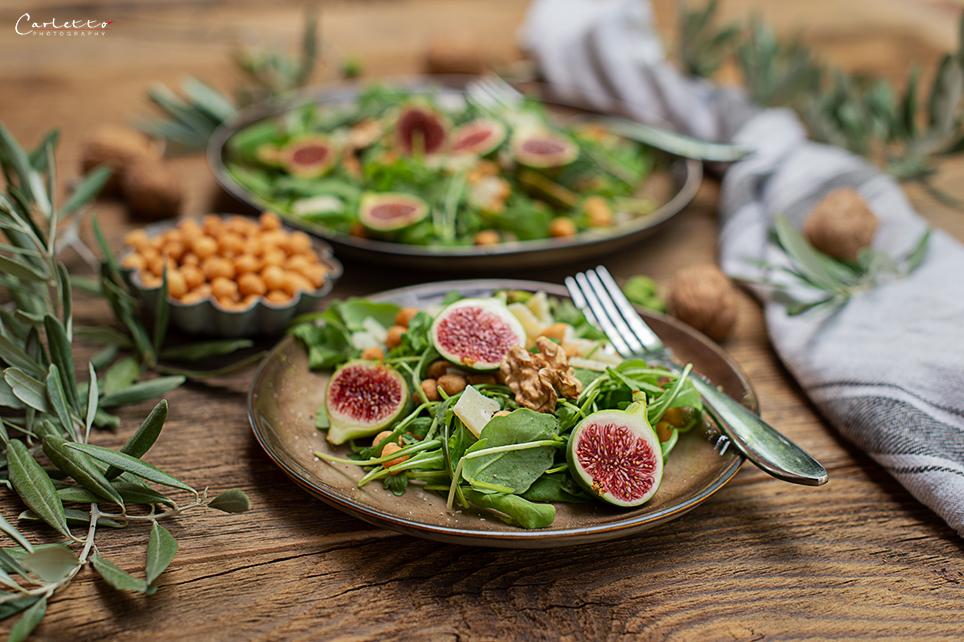 Rucola Parmesan Salat