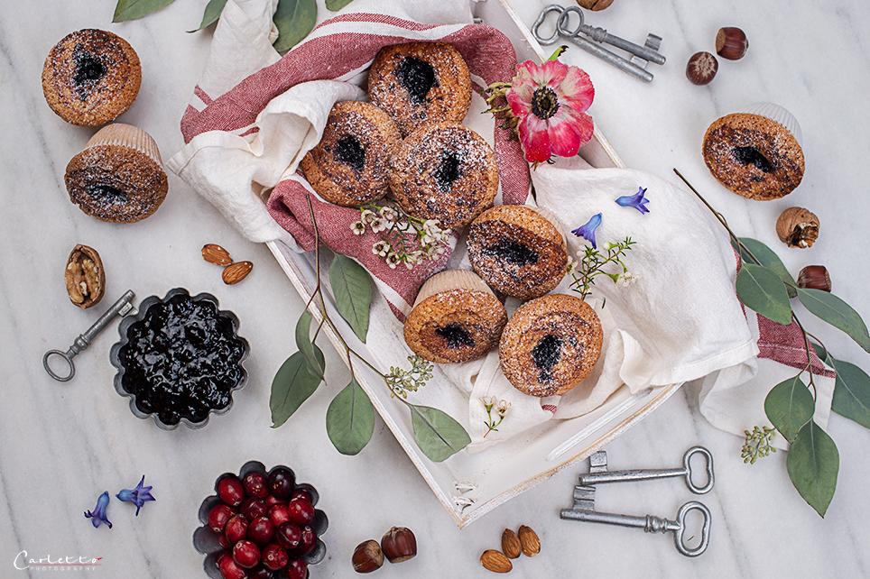 Mandel Muffins