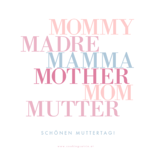 Grußkarte Muttertag