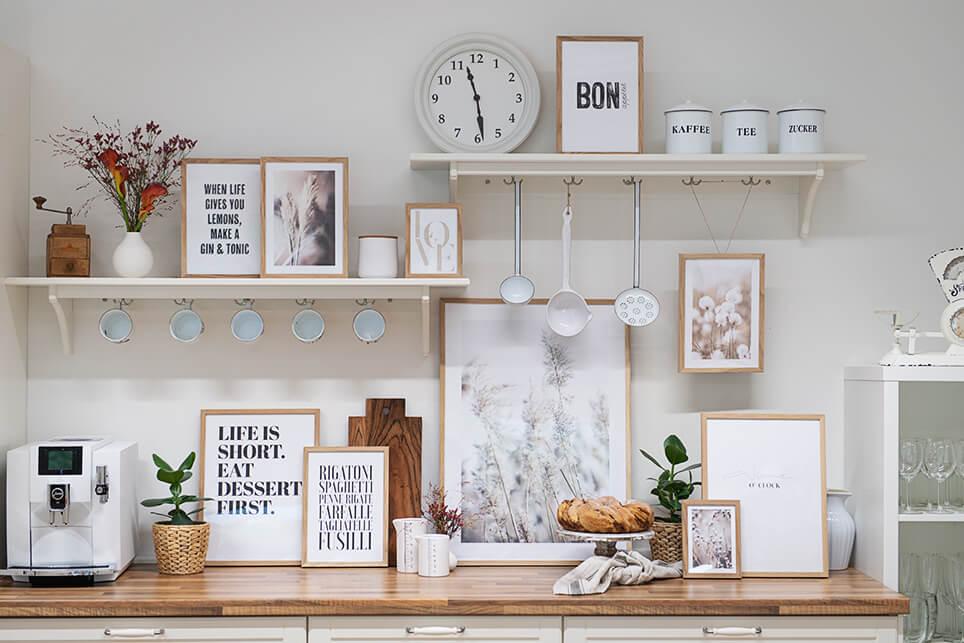 Desenio Wandbilder Küche